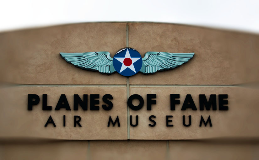 航空博物館:プレーンズ・オブ・フェイム・エアー・ミュージアム、チノ