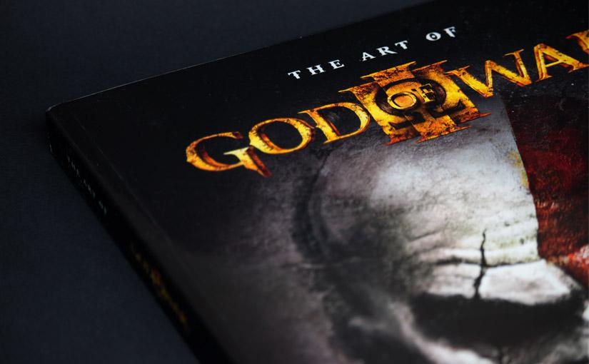 ゴッド・オブ・ウォー3の画集『The Art of God of War III (英語版)』を購入