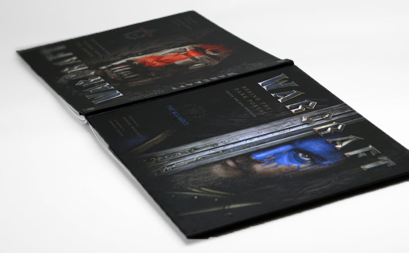 映画『ウォークラフト』のコンセプトアートからメイキングまで掲載された画集『Warcraft – ダークポータルの裏側』