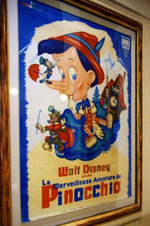 USC フランス版『ピノキオ』のポスター